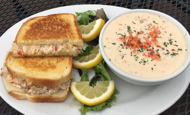 King Crab Grilled Cheese Sandwich Fish Alaska Magazine
