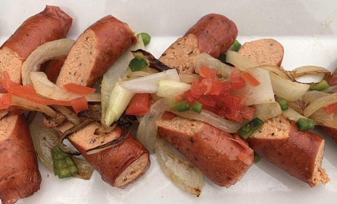 Salmon Sausage